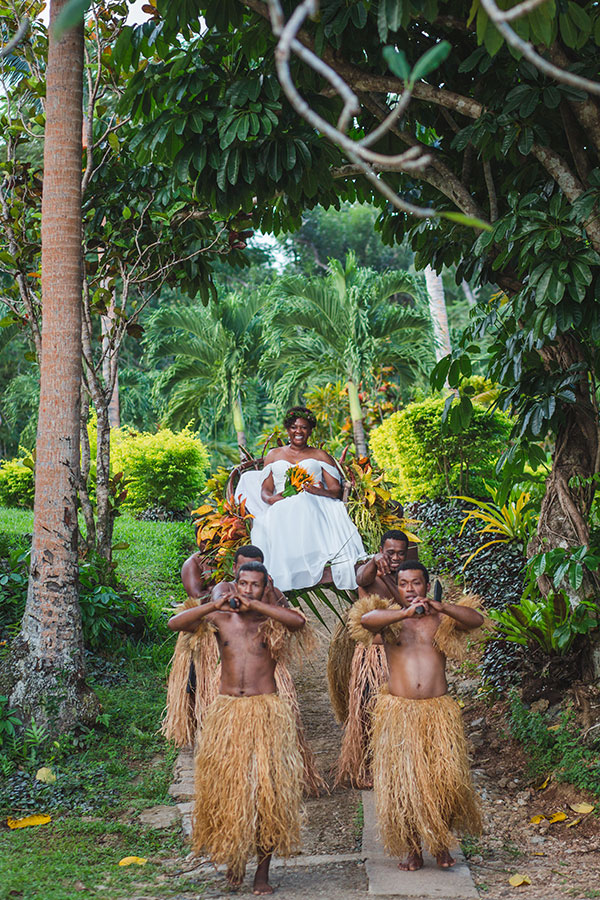 Fiji Weddings: Ingrid+Errol's Destination Wedding + Honeymoon