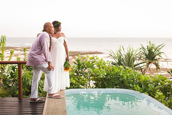 63680dff0a3e66 Dreaming of tropical Fiji weddings has us picturing blissful beach  ceremonies
